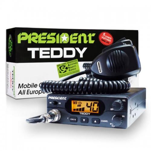 Рация автомобильная President Teddy ASC